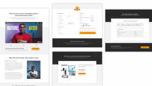 sales funnel pages